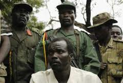 Joseph Kony and three of his stooges