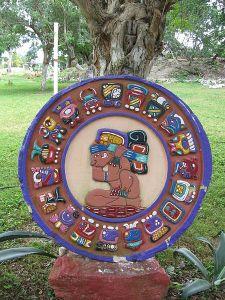 Mayan zodiac circle wikimedia