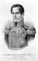 Antonio Lopez de Santa Ana US Public Domain