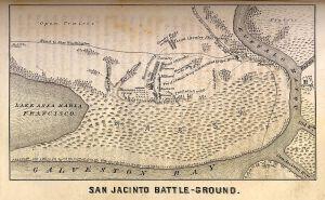 Battle of San Jacinto US Public Domain