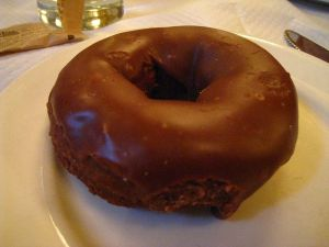 Chocolate donut John wikimedia