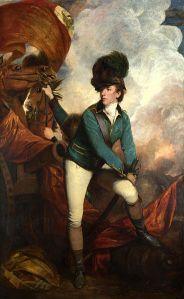 Lt. Col. Banastre Tarleton portrait by Sir Joshua Reynolds