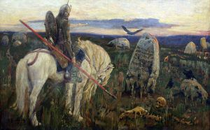 A Knight at the Crossroads Viktor M. Vasnetsov