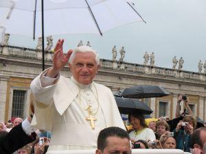 Pope Benedict XVIimage by Tadeusz Gomy, public domain