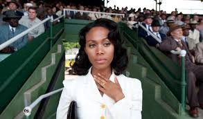 Nicole Beharie as Rachel Robinson in 42