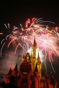 Walt Disney World image by Krismast, wikimedia commons