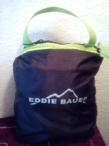 "Eddie Bauer Rippac Packable Daypack ""Before"" Picture"