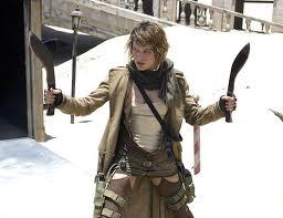 Mila Jovovich in Resident Evil: Extinction