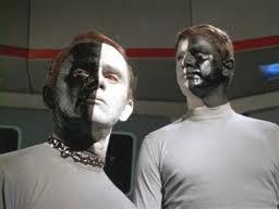 Star Trek Half Black Half White