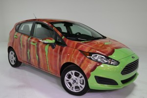 Bacon Wrapped Ford Fiesta