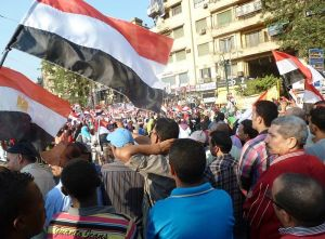 Egyptians Celebrate Morsi's Ouster image from Voice of America, July 7, 2013