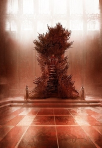 The Real Iron Throne by Marc Simonetti