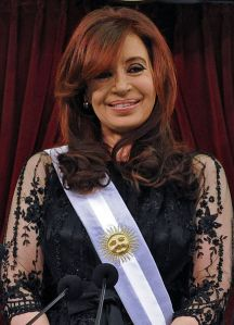 Cristina Fernández de Kirchner, a.k.a. la argentina feliz http://www.presidencia.gov.ar/
