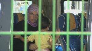 Syrian refugee in Turkey, image from Voice of America