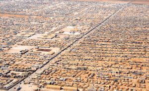 Za'atri Refugee Camp, image by US. Dept. of State