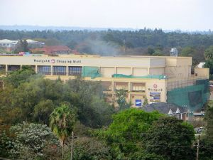 Westgate Mall, Kenya, under attack image by Anne Knight, wikimedia commons
