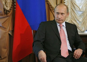 Vladimir Putin, Dove of Peace image by premier.gov.ru